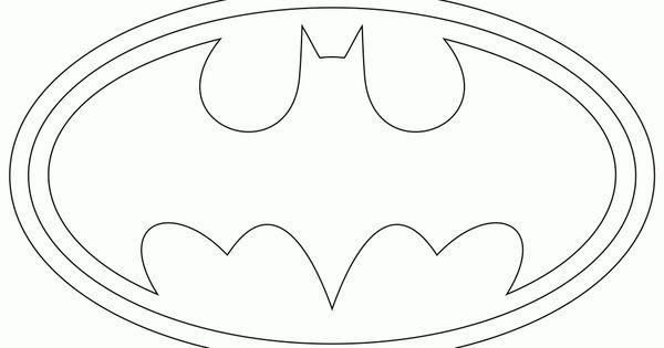Plantilla logo de batman tortas pinterest piedras for Batman logo cake template