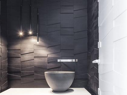 Layers of White —— Pitsou Kedem Architect | Modern Bathroom Styling Details