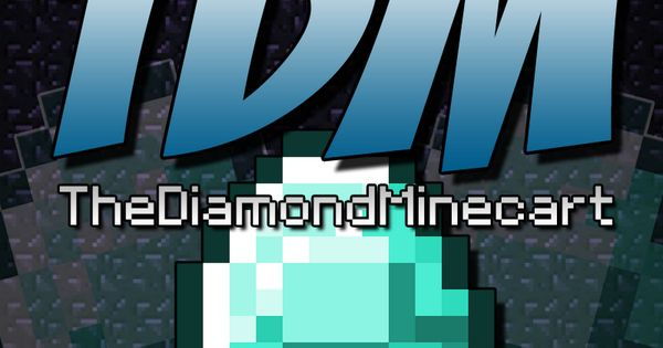 Thediamondminecart dantdm pinterest logos plays and - Diamond minecart theme song ...