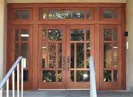 Ignore Sidelights Double Door With Transom Craftsman Style Front Doors Exterior Door Styles Craftsman Style Doors