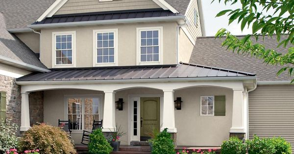 28 Inviting Home Exterior Color Ideas Valspar Front