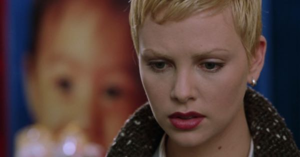 Charlize Theron from Astronauts Wife... | Hair - Pixie ...