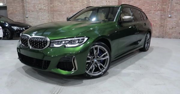 Bmw M340i Xdrive Touring Wears 6k Individual Verde Ermes Paint With Gusto Bmw Bmw3series Bmwindividual Bmwvideos U In 2020 Bmw Porsche Panamera Turbo Ford Models