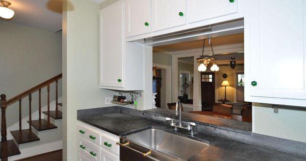 Galley Kitchen With Pass Through Kitchen Pass Through To Dining Area Kitchen Remodel Pinterest Galley Kitchens
