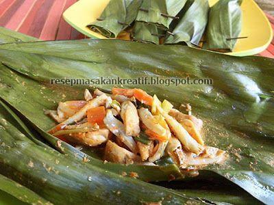 Resep Pepes Jamur Merang Teri Gurih Resep Masakan Indonesia Resep Masakan Masakan Indonesia