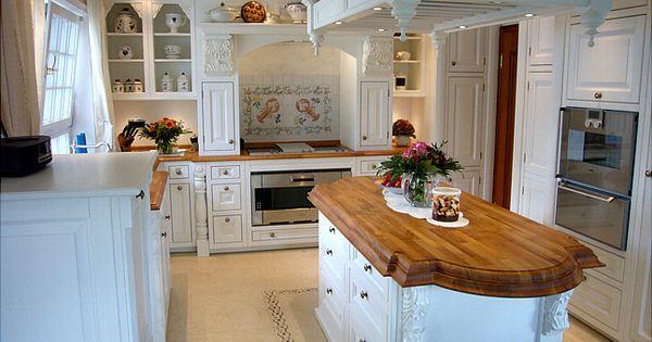 Englische landhausküche  Englische Landhausküche in weiß | Home - Einrichtungsideen ...