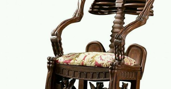Scary Rocking Chair ~ Not your grandmothers rocking chair but i d use it and
