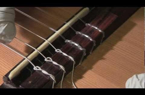 How To Restring A Classical Guitar Youtube Video Classical Guitar Guitar Youtube Acoustic Guitar Strings