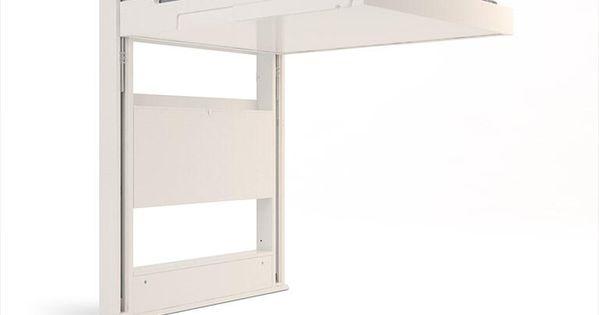 Lits escamotables eclectique projets essayer pinterest lit escamota - Lit plafond electrique ...
