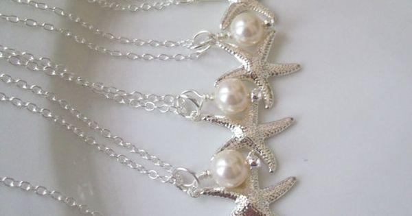 Bridesmaid necklace ideas