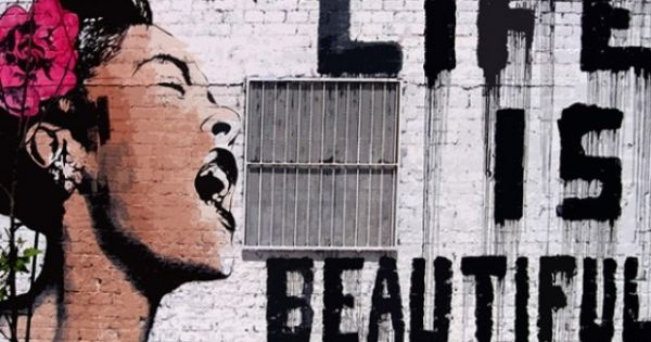 If only id have been her girlfriend and kick her of her for Billie holiday life is beautiful mural