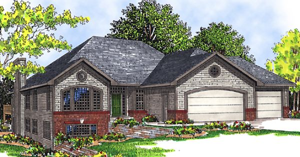 Hillside House Plans With Walkout Basement House Plan