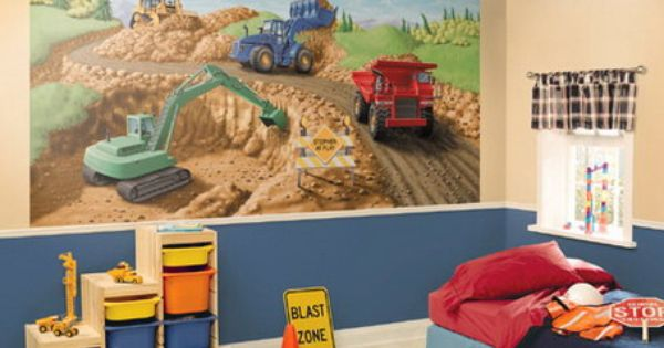 Construction theme classroom creative and amazing truck for Construction themed bedroom ideas