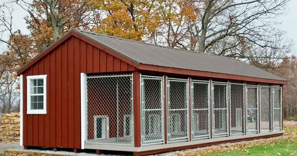 14x32 kennel traditional series board and batten for Metal board and batten siding
