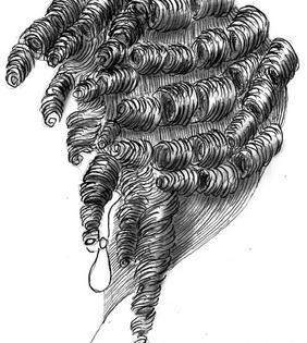 Epingle Sur 17th C Hair