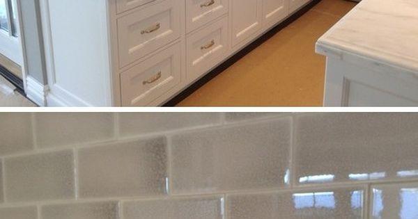 Encore Ceramics Crackle Subway Tile In Silver Home Decor
