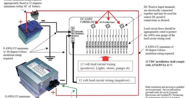 dc circuit breaker wiring diagram rv dc volt circuit breaker wiring diagram | your trailer ...