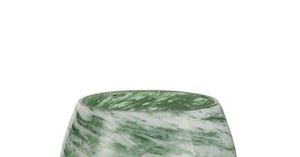 Vaas Rond Glas Groen Wit Small Kerststukopvaas Profiteer Van Gratis Verzending En Retour Bekijk Meer Informatie Van J Line Vaas Rond G Home Decor Vase Decor