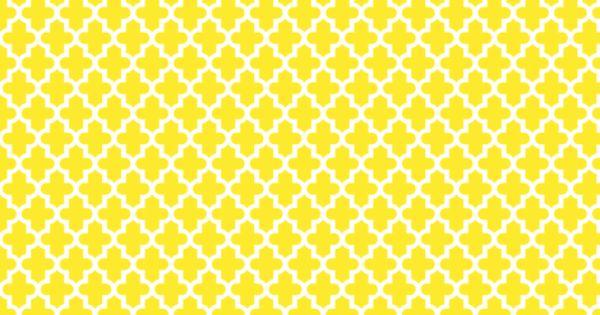 Yellow Quatrefoil Wallpaper Nursery Pinterest