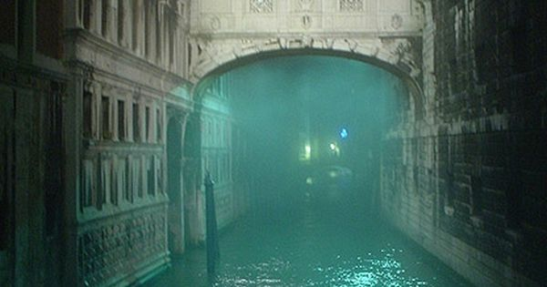 Foggy Night, Bridge of Sighs, Venice, Italy travel beautiful places