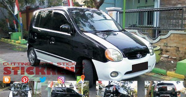 Hyundai Atoz Black Custom White Mate Wrap Autos