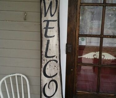 Wooden Signs For The Home Front Porches