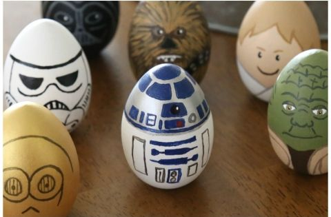 How To Make Star Wars Painted Easter Eggs Easter