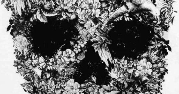 Skull Flower Skull Flower