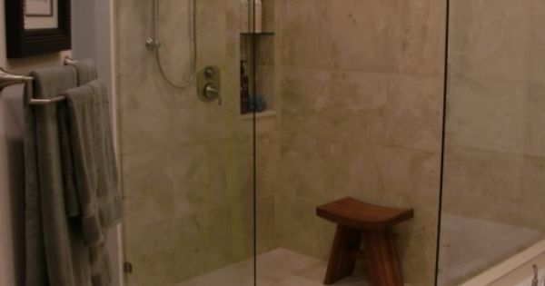 Beautiful No Threshold Shower For The Home Pinterest