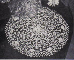 Free Crochet Spider Web Doily Doily Patterns Vintage Crochet Patterns Doilies