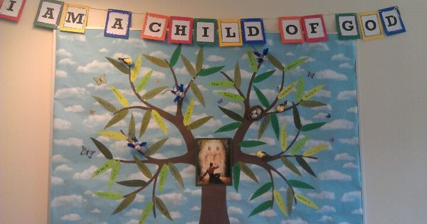 Lds Primary Bulletin Board Idea I Am A Child Of God