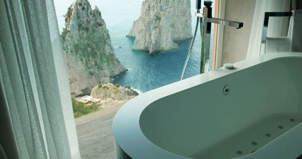 Hotel Punta Tragara, Capri, Italy. capri is my absolute favorite place i've