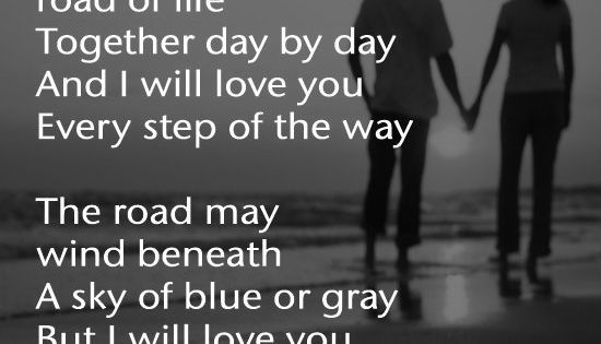 I Love You Quotes Pinterest: I Will Love You, Every Step Of The Way.