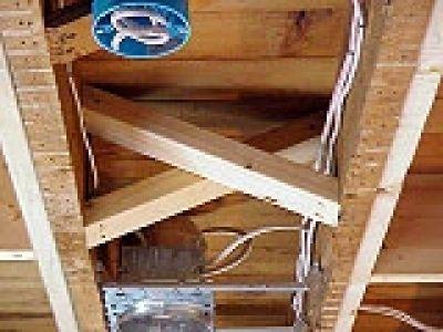 How To Repair A Bowed Floor Joist Home Repairs Diy Home Improvement Diy Home Repair