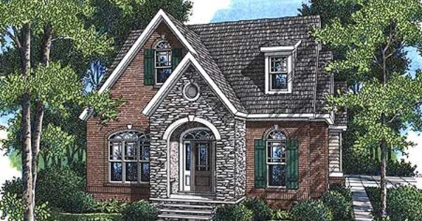 Small French Country Cottage House Plans i could just imagine that window on the front to be stained glass