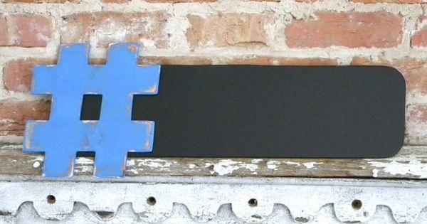 WANT- HashtagChalkboard