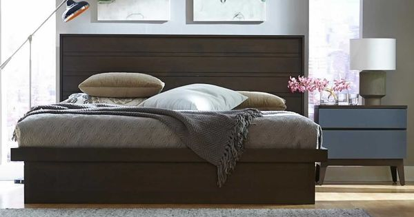 Solid Walnut Bedroom Design Of Serra Collection By West
