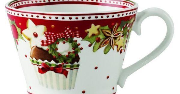 Villeroy boch winter bakery delight jarras y tazas pinterest vajillas - Vajillas navidenas ...