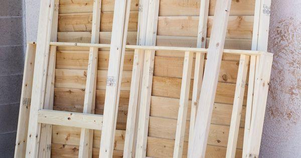 Ana White Build A Small Cedar Fence Picket Storage Shed