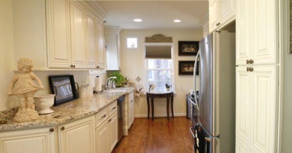 White kitchen remodel by kopke remodeling design in for Kitchen design visit