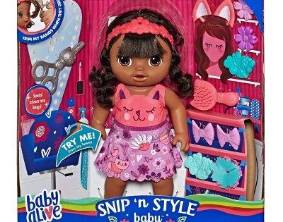 Baby Alive Snip N Style Baby Black Hair Baby Alive Doll Clothes Baby Alive Baby Alive Dolls