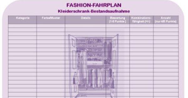 laden sie sich die checkliste zur kleiderschrank bestandsaufnahme einfach herunter drucken sie. Black Bedroom Furniture Sets. Home Design Ideas