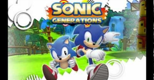 Sonic Generations Title Screen Theme Of Sonic Music Sonic Generations Sonic Generation Game