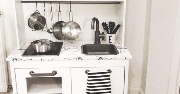 Ikea keukentje gepimpt - Kinder kamer !!  Pinterest - Initialen ...