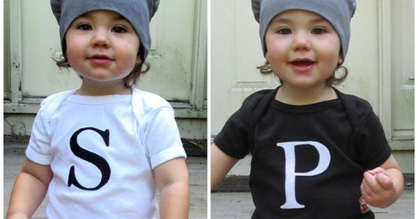 Salt and Pepper Shaker Twin Baby Costume on Etsy, $56.00