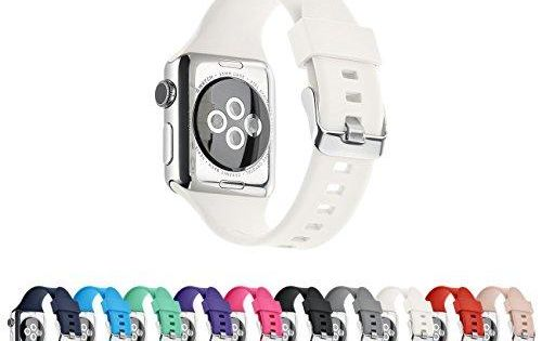 Soft Silicone Fit And Feel Notice The 38mm Will Be S M And The 42mm Will Be M L Size The Pantheon Ap Apple Watch Replacement Bands Apple Watch 1 Apple Watch