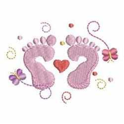 New baby embroidery pattern