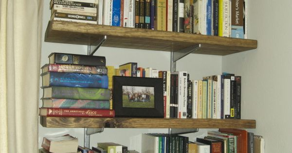 Simple Homemade Book Shelves By Your Own Creation
