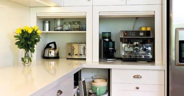 elektroger te k chenzeile ecke faltbare t ren schrank ausbau pinterest k chenzeilen. Black Bedroom Furniture Sets. Home Design Ideas