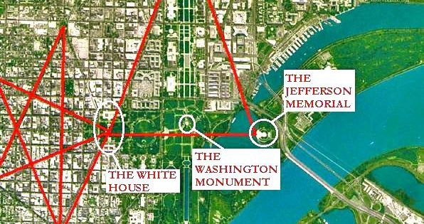washington dc occult map Ancient symbols and Meanings